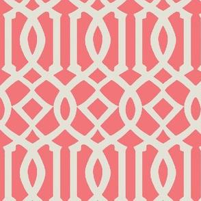 Imperial Trellis-Pink