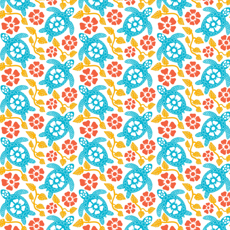 turtle10-01 fabric by coloroncloth on Spoonflower - custom fabric
