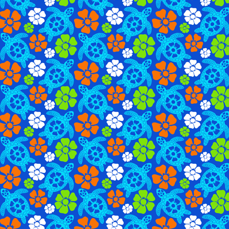 turtle19-01 fabric by coloroncloth on Spoonflower - custom fabric