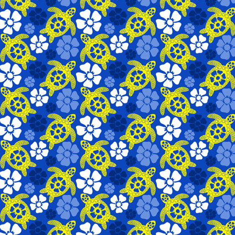 turtle24-01 fabric by coloroncloth on Spoonflower - custom fabric