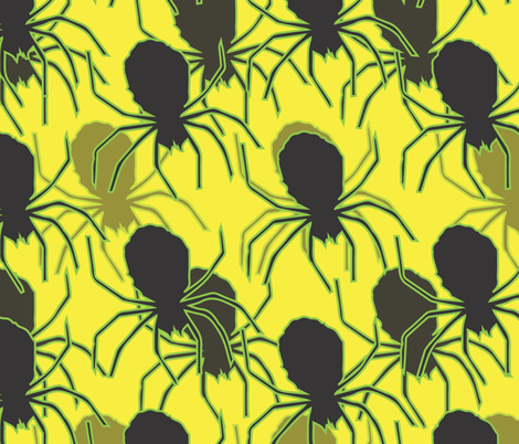 Creepy_Crawler_Fabric fabric by adrianne_nicole on Spoonflower - custom fabric
