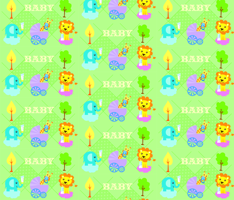 BABY fabric by lauralvarez on Spoonflower - custom fabric