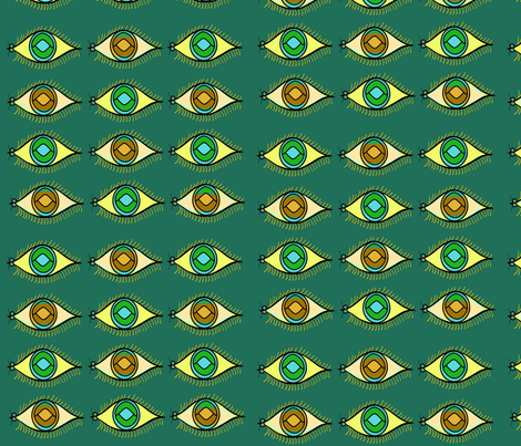 Bug Eyes fabric by chovy on Spoonflower - custom fabric
