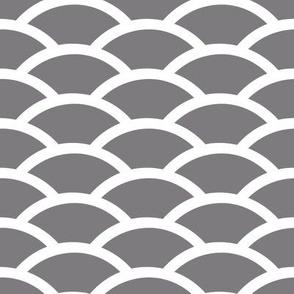 Steel Gray Scallop
