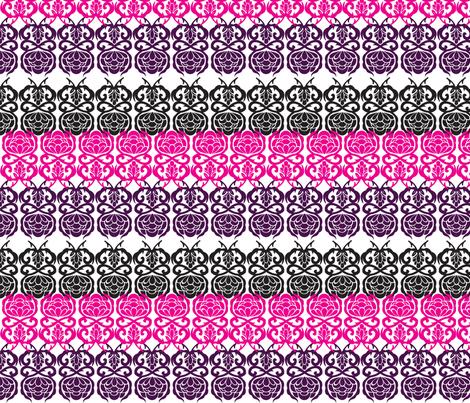 Black Chandelier coordinate II fabric by lauralvarez on Spoonflower - custom fabric