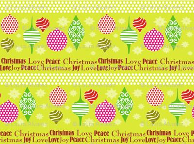 Christmas Tree Decor coordinate