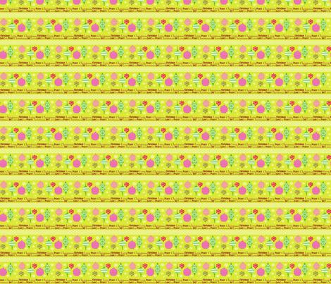 Christmas Tree Decor coordinate fabric by lauralvarez on Spoonflower - custom fabric