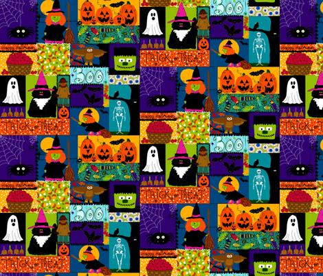 Creepy Crawly Halloween fabric by beebumble on Spoonflower - custom fabric