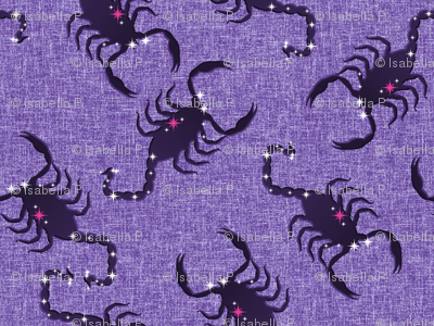 A Sting in the Tail - The Scorpion Creeps Across the Purple Sky