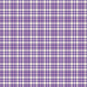 Navy and plum plaid