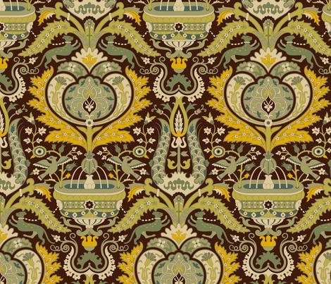 Serpentine 901a fabric by muhlenkott on Spoonflower - custom fabric