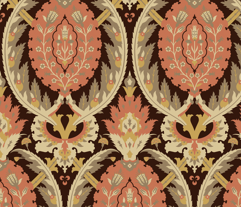 Serpentine 771c fabric by muhlenkott on Spoonflower - custom fabric