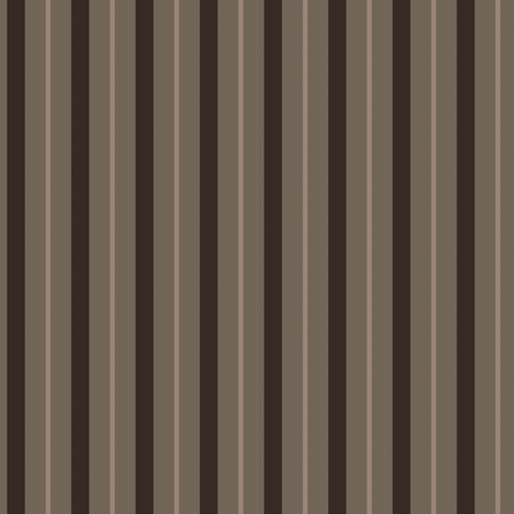 Klingon Stripe - Brown, Small fabric by meglish on Spoonflower - custom fabric