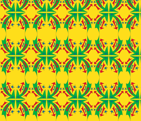 primarily_arrows fabric by elm_cottage on Spoonflower - custom fabric