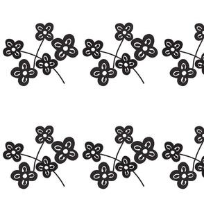 black adinkra bouquet