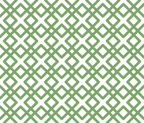 Weave in Sage Green fabric by pearl&phire on Spoonflower - custom fabric