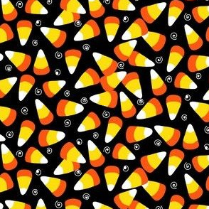 candy corn black