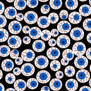 Eyeballs black