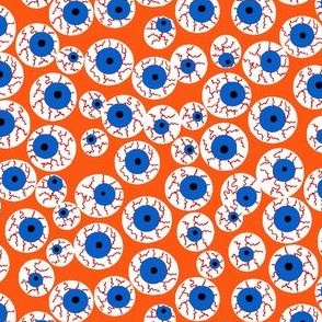 Eyeballs orange