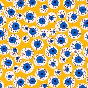 Eyeballs yellow