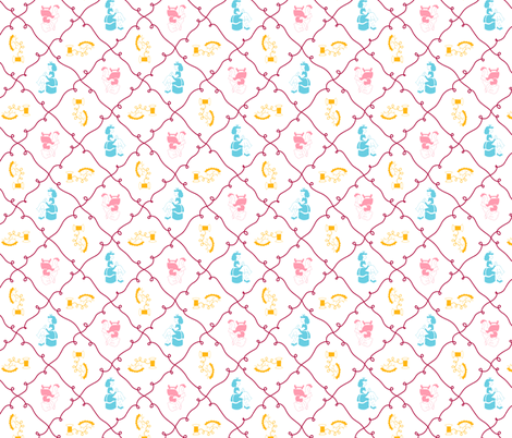Stitchery fabric by tuppencehapenny on Spoonflower - custom fabric