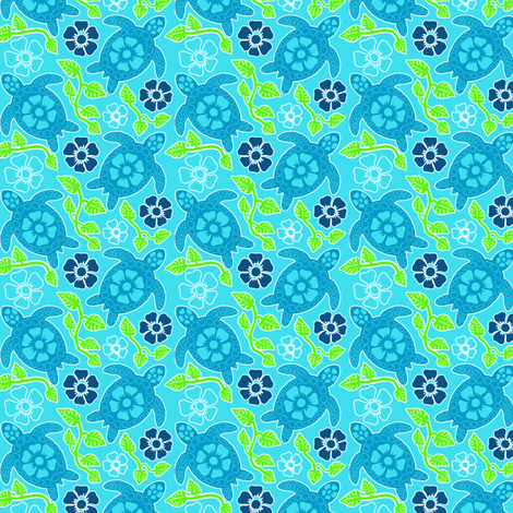 turtle30g-01 fabric by coloroncloth on Spoonflower - custom fabric