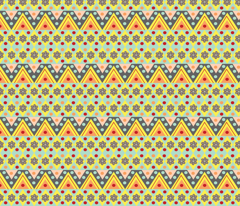 aztec fabric by viewfromtheskye on Spoonflower - custom fabric
