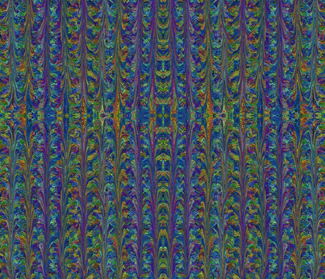 Rainbows in the Oil fabric by anniedeb on Spoonflower - custom fabric