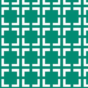 Moroccan Quad in Emerald
