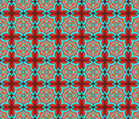 Cove Isle Red fabric by nascustomlife on Spoonflower - custom fabric