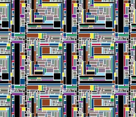 Squared fabric by lpjones on Spoonflower - custom fabric