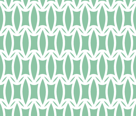 Grassroot in Mint Green fabric by pearl&phire on Spoonflower - custom fabric