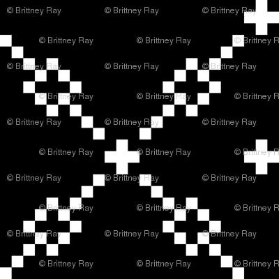 Black Checker Pattern