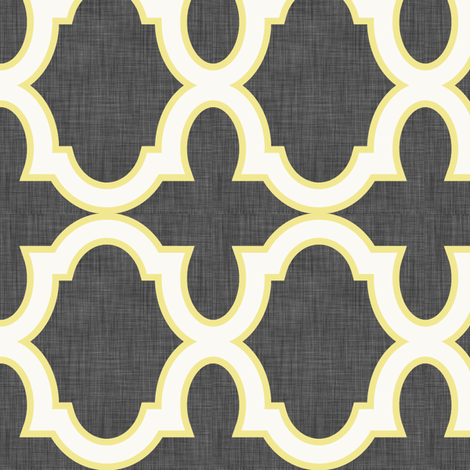 Claudette Citron fabric by crisbucknall on Spoonflower - custom fabric
