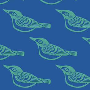 Black Capped Vireo Large - Bluebird-ch-ch