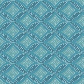 kimono diamond - ocean teal