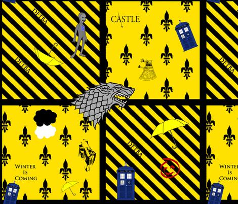 Hedda's fandoms fabric by annekul on Spoonflower - custom fabric