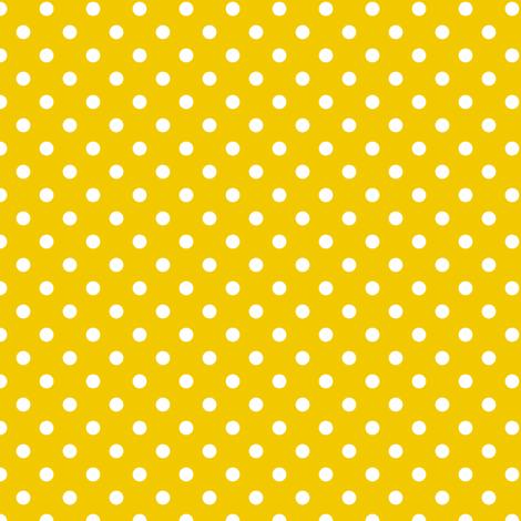 spots - golden fabric by fox&lark on Spoonflower - custom fabric