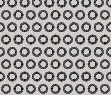 Infinite Rings fabric by ilikemeat on Spoonflower - custom fabric