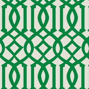 Imperial Trellis-Green-reverse
