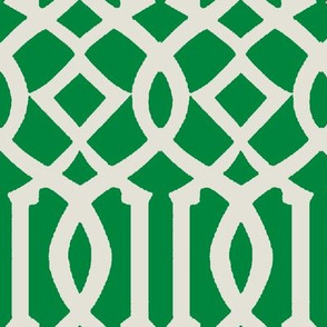 Imperial Trellis-Kelly Green-Large