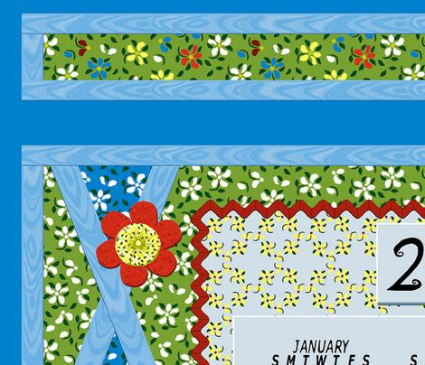 Flood_of_Flowers__Layered_Applique_Calendar_2014 S