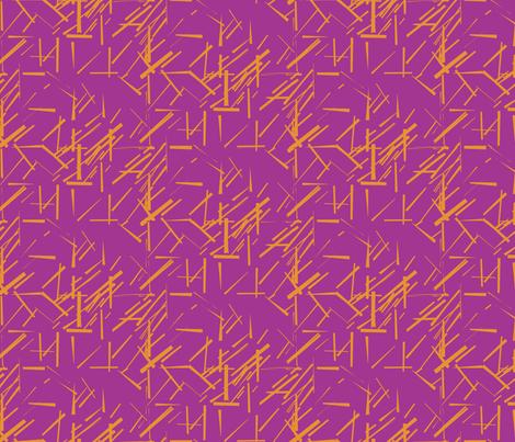 MODERNITY_Solstice_Konstructivist_orange_magenta fabric by izeondesign on Spoonflower - custom fabric