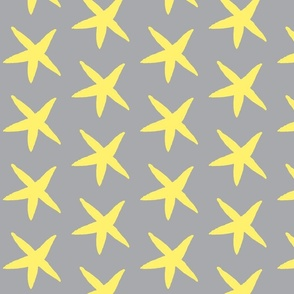 Starfish Gray and Yellow