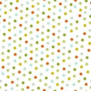 Cloud, leaf, cayenne dots