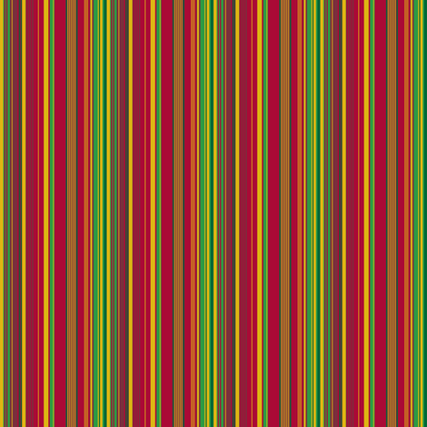 Circus Wagon Christmas: Stripes fabric by tallulahdahling on Spoonflower - custom fabric