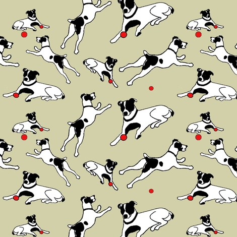 Fetch! fabric by ragan on Spoonflower - custom fabric