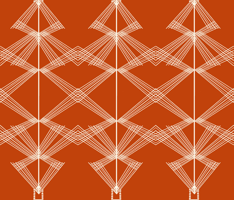Threads fabric by mirjamauno on Spoonflower - custom fabric