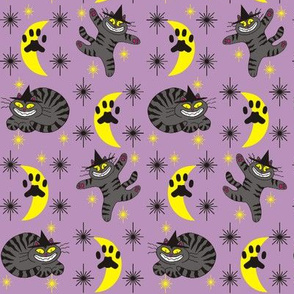 Magical Mr. Midnight in Charcoal & Plum