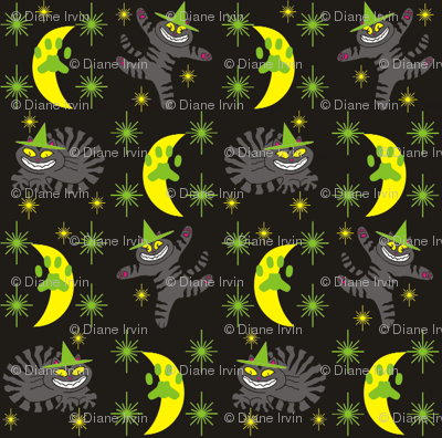 Magical Mr. Midnight in Charcoal, Lime, & Black